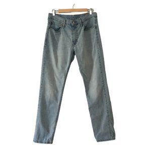 Levi's Light Wash Denim Jeans Size Men's 33 x 32